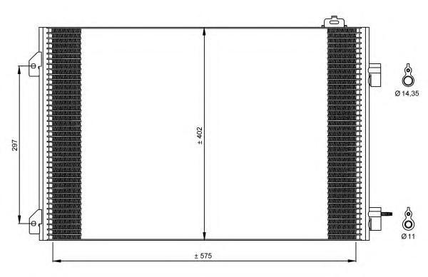 35545 Конденсатор RE Clio II 1,5D