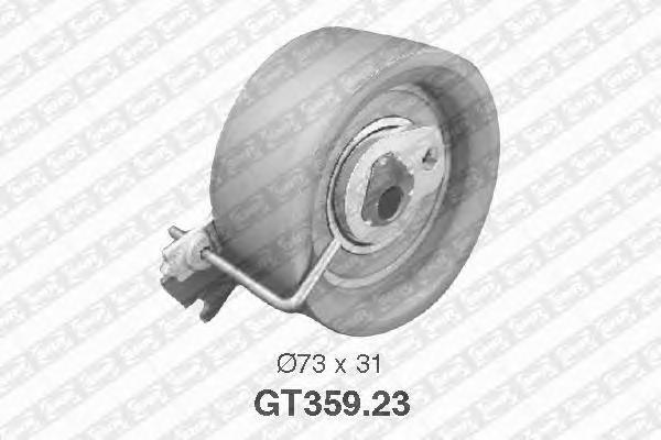 GT35923 Ролик натяжной ремня ГРМ PEUGEOT: 307, Partner, Ranch, 206, CITROEN: C3, Xsara, Berlingo