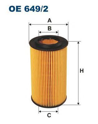 OE6492 Фильтр масляный BMW E46/E39 1.8D/2.0D/ROVER 75 2.0D