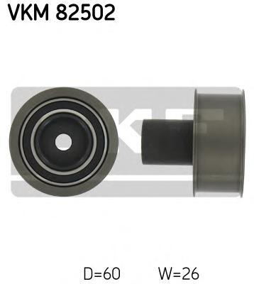 VKM82502 Деталь VKM82502_pолик обводной pемня ГPМ