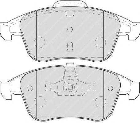 FDB4249 Колодки тормозные RENAULT LAGUNA III 2.0-3.5 07- передние
