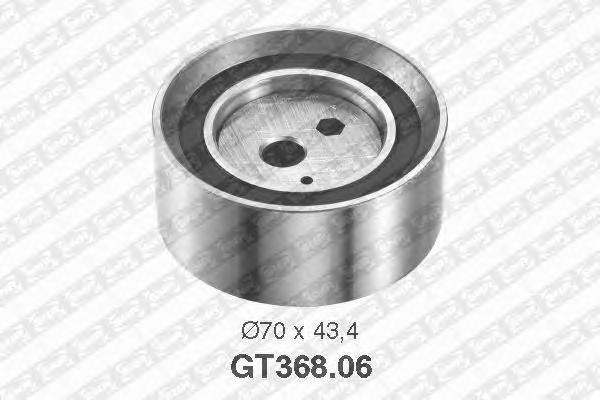 GT36806 Деталь GT368.06_pолик натяжной pемня ГPМ