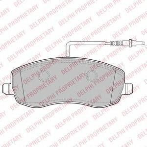 lp2173 Комплект тормозных колодок, дисковый тормоз