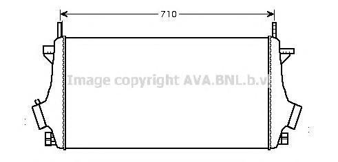 OLA4476 Интеркулер OPEL INSIGNIA 1.6T-2.0T/2.8/2.0TD 08-