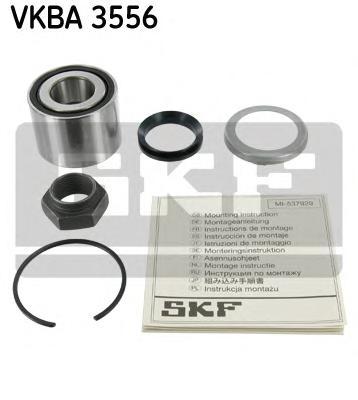 VKBA3556 Подшипник ступичный задн PEUGEOT: 206 1.1i/1.4i/1.6i/1.9D/2.0HDi 09/98-01/02, 106 II 1.0i/1.1i/1.4i/1.5D (4 крепежных о