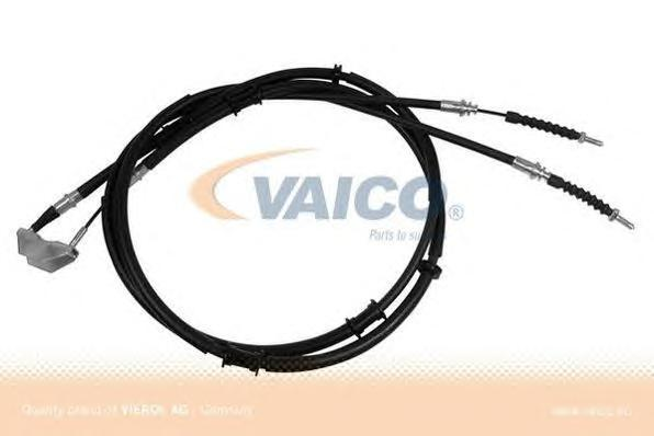V4030003 Трос ручного тормоза OPEL ASTRA 98-05 1592мм задний (диск.торм.)