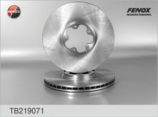 TB219071 Диск тормозной FORD TRANSIT 2.3/2.4D 00-06 передний вент.D=294мм.