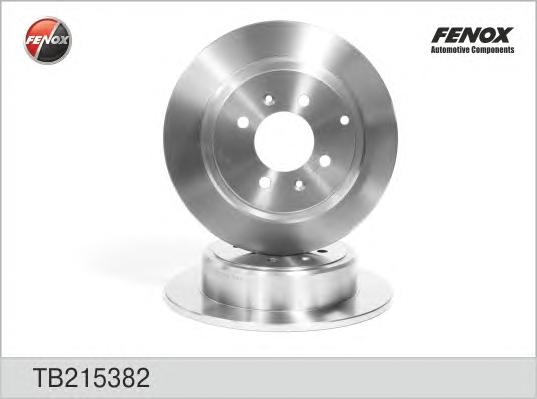 TB215382 Диск тормозной PEUGEOT 406 95-04 задний