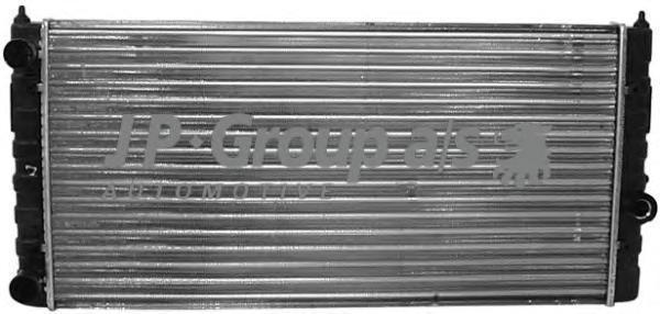 1114203000 Радиатор охлаждения двигателя (628x322) / SEAT,VW Golf-III,Vento 1.6/1,8/1,9 DIS/2,0 91~