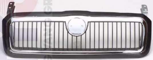 sd07002ga Решетка радиатора хромированная SKODA: OCTAVIA 96-