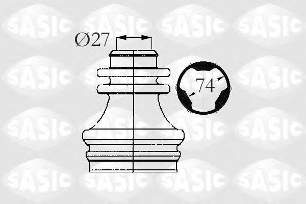 4003472 Пыльник ШРУСа RENAULT CLIO/SCENIC/LAGUNA внутр.прав.