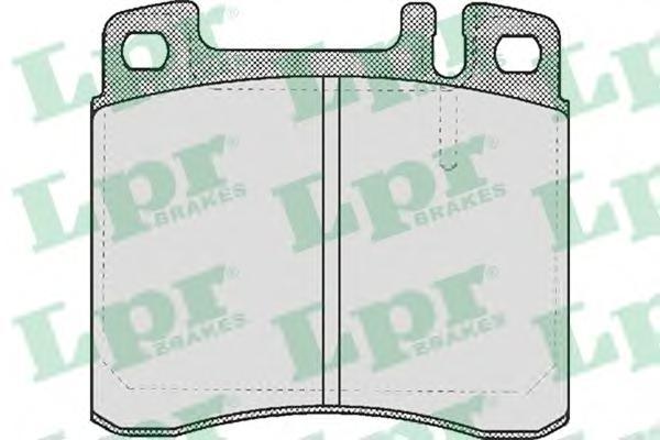 05P447 Колодки тормозные MERCEDES W140 3.0/3.2 91-98 передние