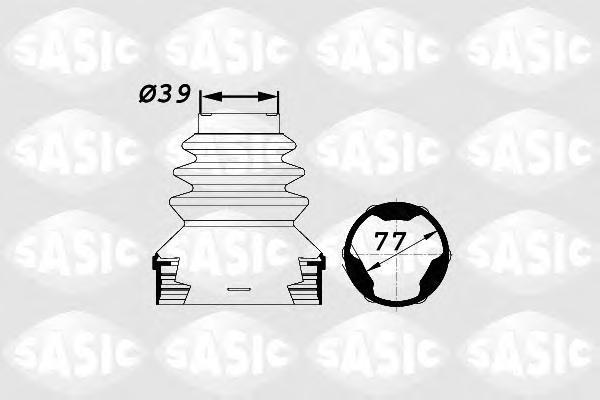 1900002 К-т пыльника ШРУСа внутр. PSA C4/5, 307, 406, 407