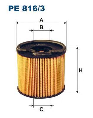 PE8163 Фильтр топливный PEUGEOT/CITROEN HDI