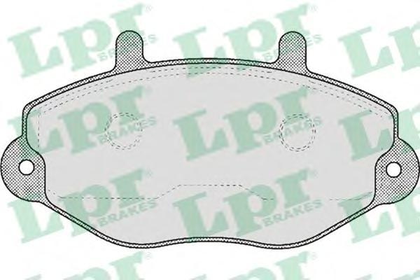 "05P482 Колодки тормозные FORD TRANSIT R15"" 91-00 передние"