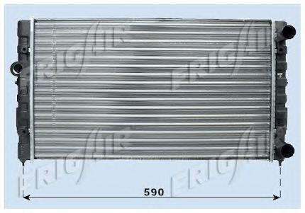 01103013 Радиатор, охлаждение двигателя