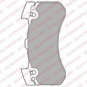 LP2283 Колодки тормозные AUDI A8 (1LN) 09- передние
