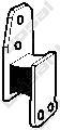 255600 Подвеска глушителя NISSAN TERRANO 2.4-2.7 93-