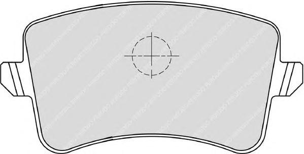 FDB4050 Колодки тормозные AUDI A4/A5/Q5 1.8-3.2 07- задние