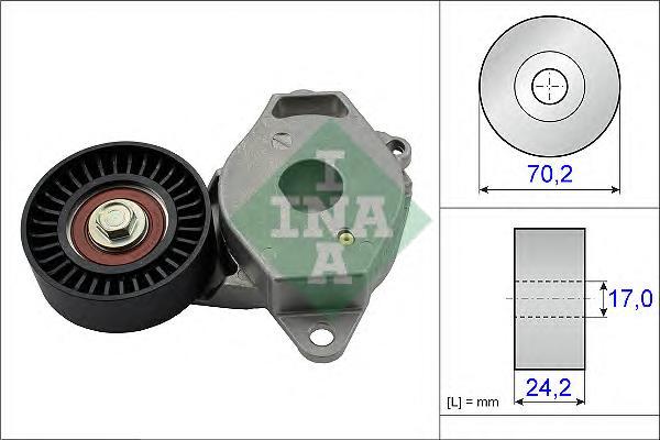 534040910 Ролик приводного ремня Toyota Yaris 1.3VVT-I 16V 04