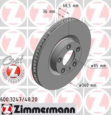 600324720 Тормозной диск
