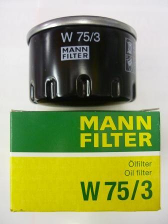W753 Фильтр масляный HYUNDAI/KIA/MAZDA/MITSUBISHI/NISSAN
