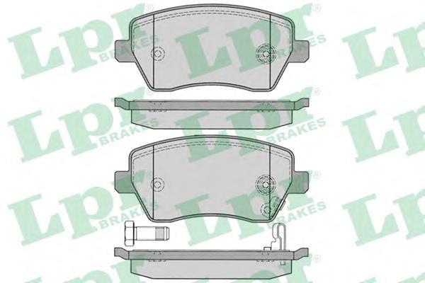 05P1229 Колодки тормозные SUZUKI SWIFT 05-/OPEL AGILA 07-/NISSAN MICRA 10- передние