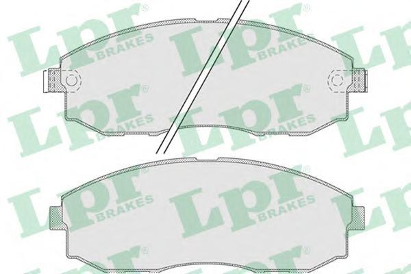 05P1015 Колодки тормозные HYUNDAI H-1/STAREX 2.4-2.5D 97- передние