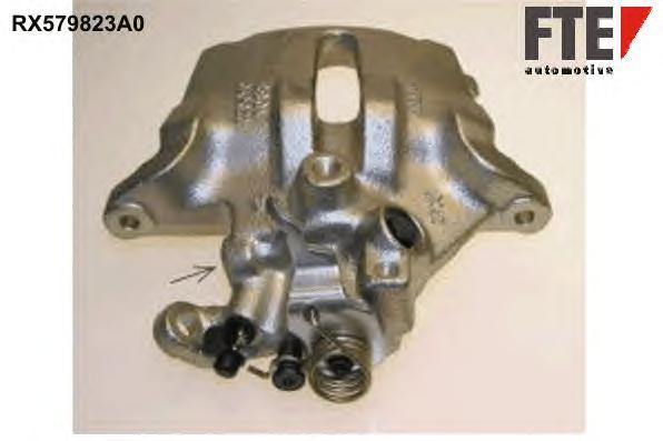 RX579823A0 Суппорт тормозной Fr L PSA C5 1.6-2.0 01- восст.