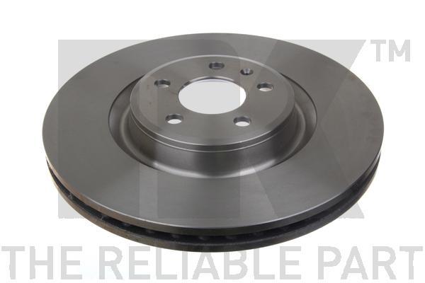 2047154 Диск тормозной передний / AUDI A-4,5,6,7, Q5 2,0-3,2 (30x345mm) 08~