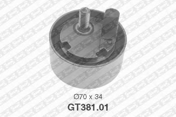 GT38101 Ролик натяжной ремня ГРМ SUBARU: Impreza, Legacy