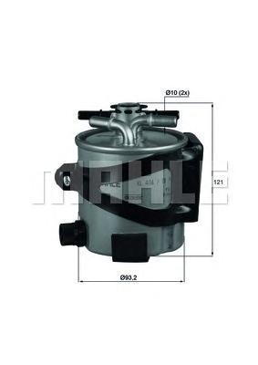 KLH4417 Фильтр топливный REN Megane II 05 -