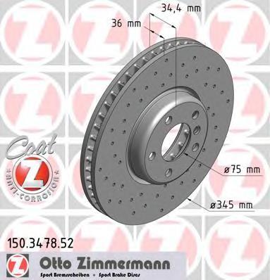 150347852 Тормозной диск