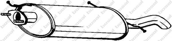 171317 Глушитель MAZDA 626 V (GW) 2.0 97-