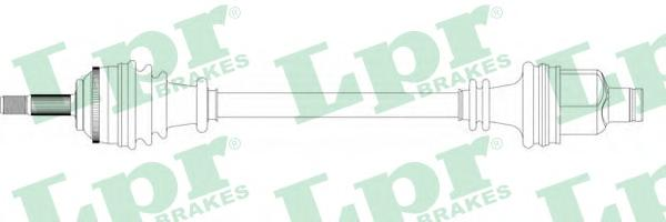 DS39135 Привод в сборе RENAULT CLIO II/KANGOO 1.2-1.9DTI 97-09 прав. +ABS