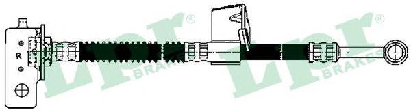 6T48151 Шланг тормозной HYUNDAI GETZ 1.1-1.4 02- передний прав.