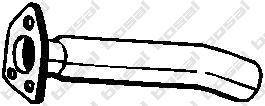 339159 Трубопровод выпускной MITSUBISHI PAJERO 2.5TD/3.0 89-95