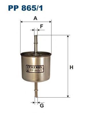 PP8651 Фильтр топливный FORD EXPLORER 93-