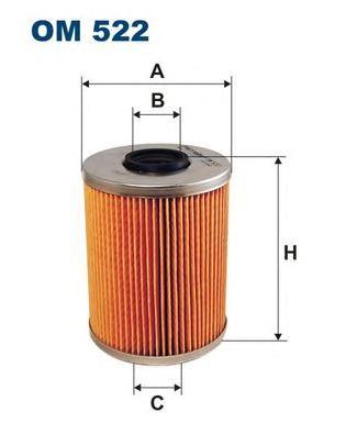OM522 Фильтр масляный BMW 2.0-3.2