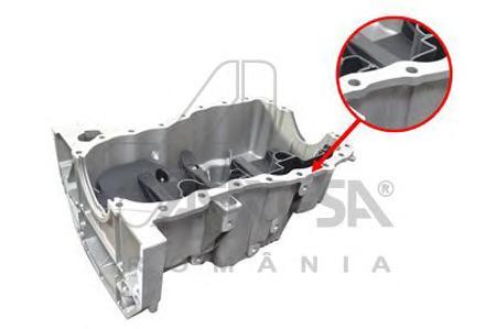 30485 Поддон картера двигателя RENAULT LOGAN 1.6 16V/1.5DCi