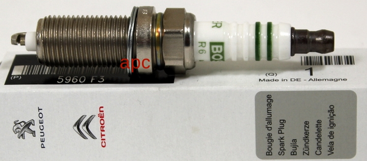 5960F3 Свеча зажиг 1007/207/307/PARTNER
