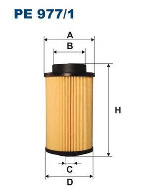 PE9771 Фильтр топливный MAN