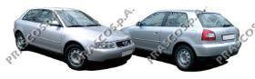 AD0161011 Бампер передний грунтованный / AUDI A3 (без отверстий под ПТФ) 09/00~