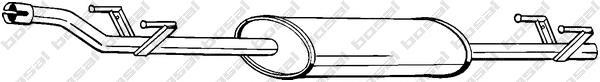 288231 Резонатор MB SPRINTER 2.2CDI 00-06