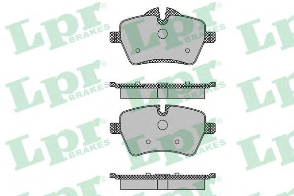 05P1485 Колодки тормозные MINI ONE/COOPER 1.6 03- передние