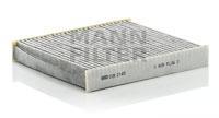 CUK2145 Фильтр салона SUBARU IMPREZA 00- угольный