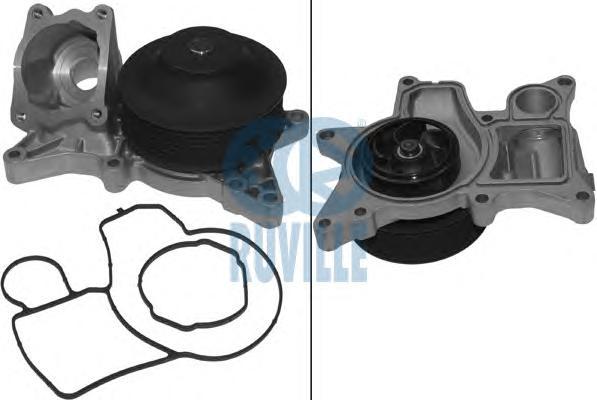 65038 Насос водяной BMW F10/F11/F01/E70/E71 3.0D 08-