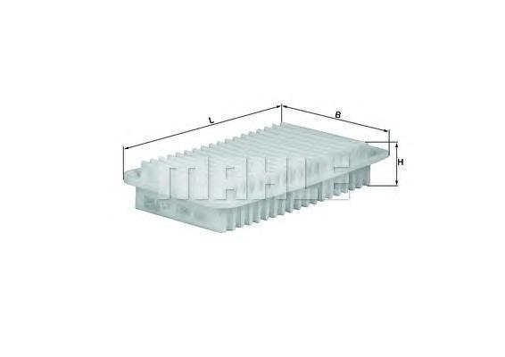lx1286 Воздушный фильтр