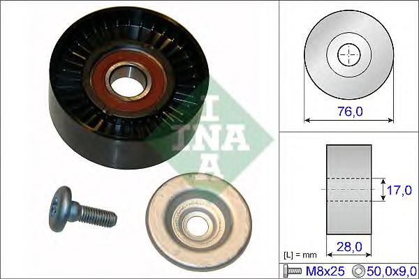 532064810 Ролик ремня приводного MB W203/204/211/212/SPRINTER 906 1.8