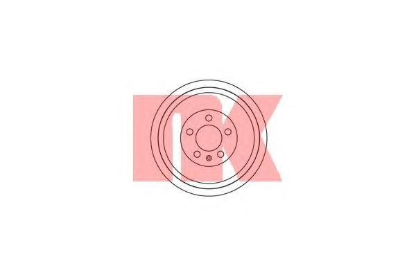 254303 Барабан тормозной / SKODA Octavia, Roomster (230x39)  96~